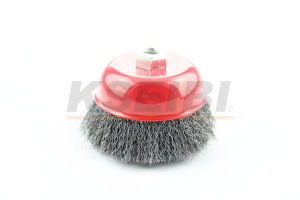 Kseibi Rust Removal Cup Twisted/Crimped Wire Brush pictures & photos
