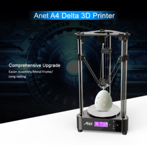 High Quality Patent Technology Anet A4 3D Printer for Educaion