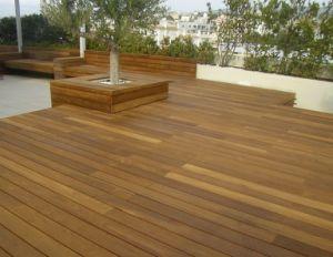 Pre Oiled Burmese Teak Wood Deck Flooring
