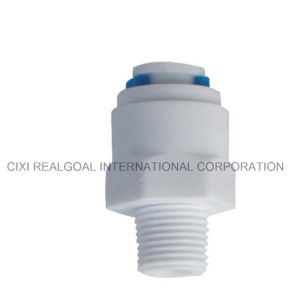 """Straight Quick Connect fitting 3//8/"""" thread x 1//4/"""" tubing for water filter//RO 2"""