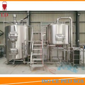 1000L Craft Beer Brewing Equipment with 304 Stainless Steel Brewery