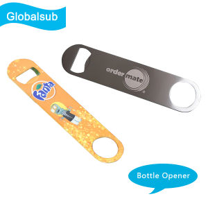 Persomalized Stainless Steel Beer Bottle Opener with Sublimation