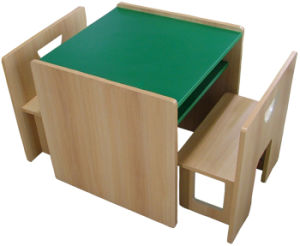 2-Seater MDF Kids Table and Chair (GT-84A) pictures & photos