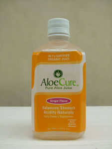 Aloe Cure Natural Aloe Juice