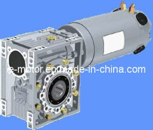 Worm-Gear Reducers with DC Motor pictures & photos