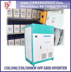 Large Power 100kw 200kw 300kw Full Power Output 94% High Efficient Battery Backup Solar System Hybrid Power Inverter