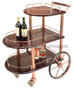 Three-Tiered Wine Trolley (DE24) pictures & photos
