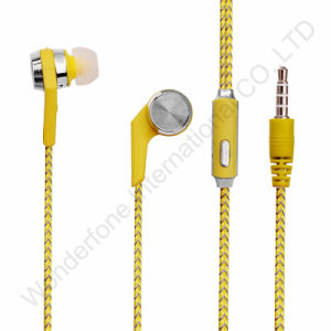 PVC Line Control Wired Handsfree for All Phones pictures & photos