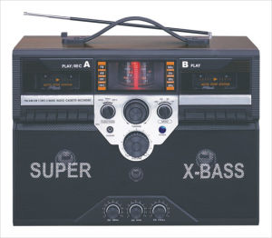 Professional Multi-Band Portable Radio Cassette Recorder Player With Double Cassette Recorders (AY-3900A)