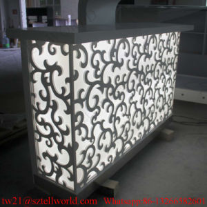 Beauty Furniture Coffee Bar Cabinet Starbucks Bar Counter for Sale Cafe Counter pictures & photos