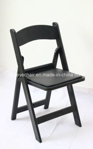 china factory wholesale padded resin folding chair garden chair