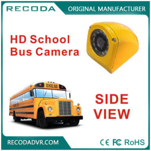 Wide Angle Side View HD 1080P Ahd Infrared School Bus Vehicle Mounted Camera
