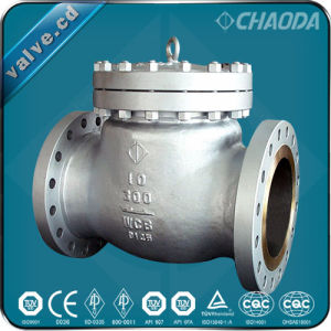 Class Series Cast Steel Swing Check Valve pictures & photos