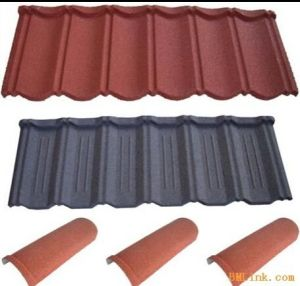 Stone Coated Roof Tile Making Roll Forming Machine Made in China pictures & photos