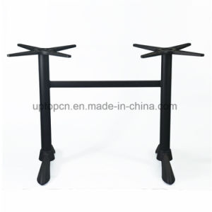 Black Aluminum Restaurant Table Base for 2 Stand (SP-ATL261) pictures & photos