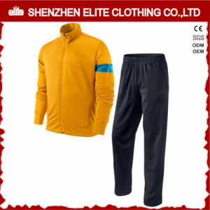 Fancy High Quality Polyester Tracksuit Jacket and Pant (ELTTI-18) pictures & photos