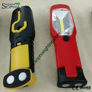 Portable Rechargeable 3W LED Work Light for Auto Car Repair