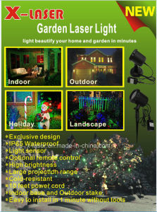 2017 New Outdoor Christmas Festival Garden Star Laser Lights Shower Decoration pictures & photos