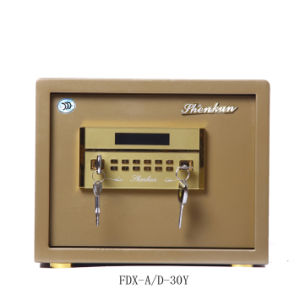 Security Home Safe Box with Digital Lock-Champagne Gold Seriers Fdx a/D 30y pictures & photos