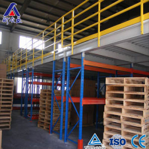 Warehouse Storage Heavy Duty Steel Mezzanine Floor Stairs