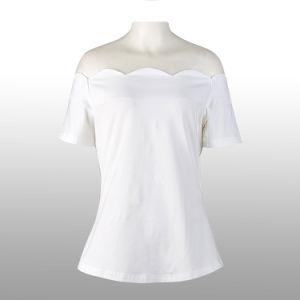 15b4e63e6ce China Woman Blouses and Tops Rockabilly Vintage Plain White Sexy ...