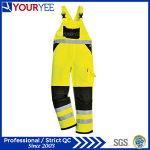 Back Elasticated Waist Hi Vis Bib and Brace (YFBD114)