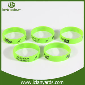 Cheap Custom Bright Colorful Silicon Wristbands Free Design