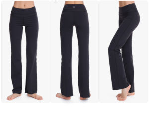 Wide Trouses Soft Wear High Quality Women Yoga Leggings pictures & photos