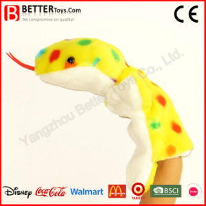 Stuffed Toy Plush Animal Snake Hand Puppet for Kids/Children pictures & photos