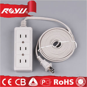 220V Travel Portable Universal Electrical Power Extension Cord pictures & photos