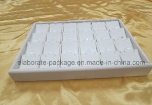 Low Price Pure White Jewellry Tray Leather Normal Tray pictures & photos