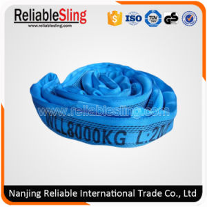 High Tensile Polyester Soft Round Sling for Rigging pictures & photos