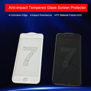 Cell Phone Accessories Anti-Impact Shock-Proof Tempered Glass Screen Protector for iPhone 7