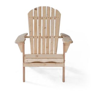 Outdoor Rocking Garden Solid Wood Folding Wooden Adirondack Chair