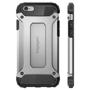 iPhone 6 Tough Armor Carbon Case PC & TPU Structure Cover pictures & photos