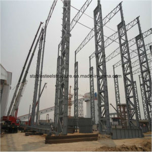 Prefabricated Light Steel Structure Building with High Height pictures & photos
