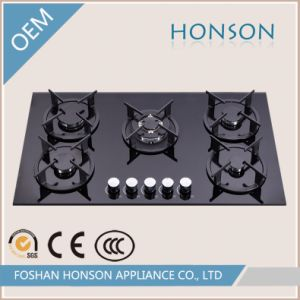 China Wholesale Glass Top Built In 5 Burner Gas Stove Tops China