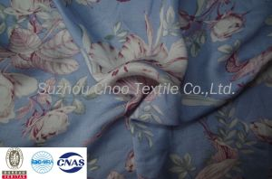 100% Cotton Printed/Printing Fabric for Skirt/Pajamas (ACTC0312)