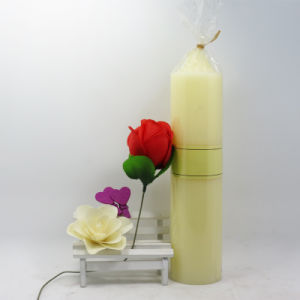 Multi-Colored Pillar Candle/White Pillar Candle Made in China pictures & photos