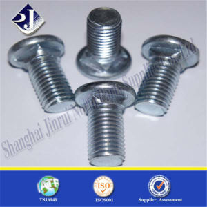 Zinc Plated Carriage Bolt for Building pictures & photos