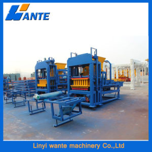 Qt6-15c Cement Brick Making Machine, Hydraulic Concrete Block Making Machine pictures & photos