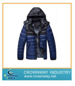 Men Winter Padded Down Waterproof Jacket with High Quality (CW-MPJ-74) pictures & photos