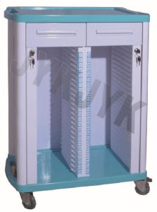 ABS Medical Cart for Patient Record Holder pictures & photos