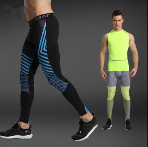 1252f1ed58cab OEM/ODM Men Compression Quick Dry Polyester Running Gym Fitness Leggings  Skin Tights Base Layer