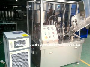 Automatic Plastic Tube Filling Sealing Machine Equipped with Chiller pictures & photos