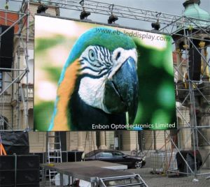 4.81mm High Definition Outdoor Rental Video LED Display Hung on Truss for Events (P4.8 /P5) pictures & photos