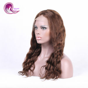 81562ddc624 China Hot Selling Blonde Wavy Remy Hair Lace Frontal Wig - China ...