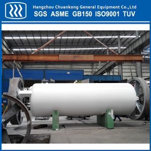 Double Wall Vacuum Insulated Cryogenic Oxygen Nitrogen Argon CO2 Tank pictures & photos