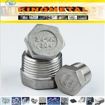 ANSI 304 Stainless Steel Casting Hexagon Plug pictures & photos