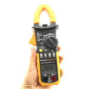 6600 Counts True RMS Digital AC/DC Clamp Meter with Inrush Current